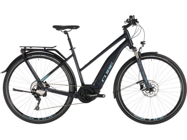 Cube Touring Hybrid Pro 500 E-trekkingcykel Trapez sort (2019) | City